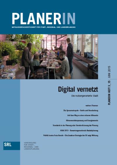 PLANERIN 3/2015: Digital vernetzt