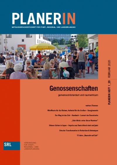 PLANERIN 1/2020: Genossenschaften   gemeinwohlorientiert und raumwirksam