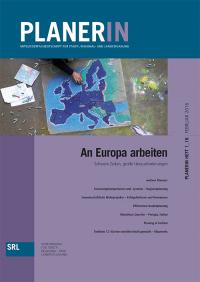 PLANERIN 1/2016: An Europa arbeiten - Schwere Zeiten, große Herausforderungen