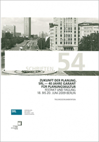 SRL-Schriftenreihe Bd. 54: Zukunft der Planung